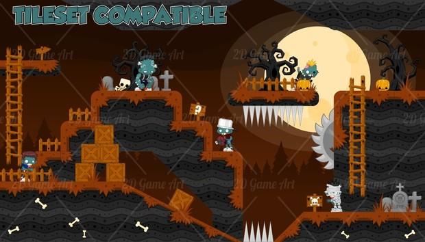 Zombie Family - Game Sprites