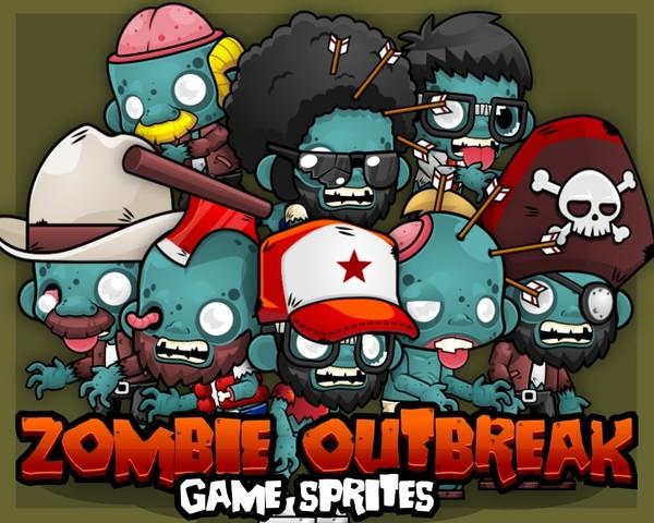 Zombie Outbreak - Game Sprites