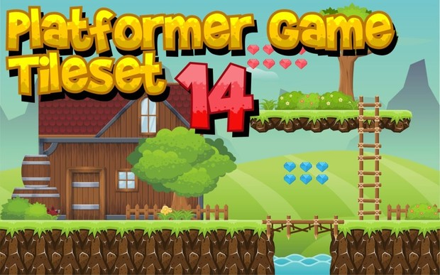 The Village - Game Tileset