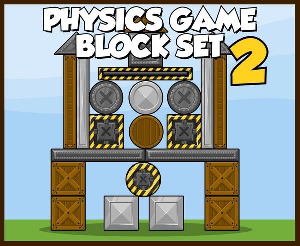 Heavy Material - Physics Game Block Set