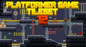 Outerspace Headquarter - Game Tileset