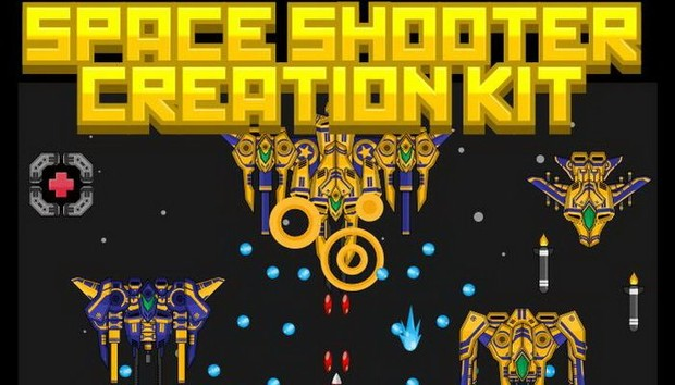 Top-Down Space Shooter Creation Kit