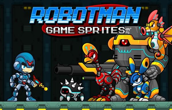Robotman - Game Sprites
