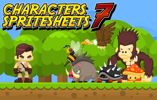 Jungle Adventurer - Game Sprites
