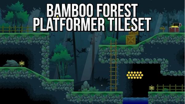 Bamboo Forest - Platformer Tileset