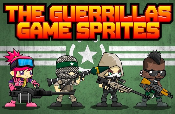 The Guerrillas - Game Sprites