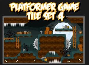 The Graveyard - Game Tileset