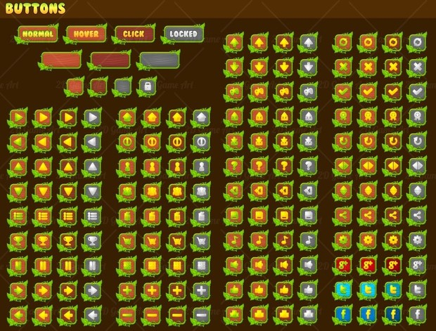 Vines & Leaves - Game GUI