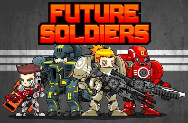 Future Soldiers - Game Sprites