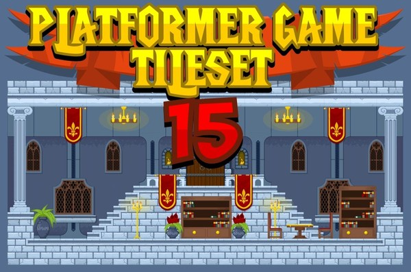 The Castle - Game Tileset