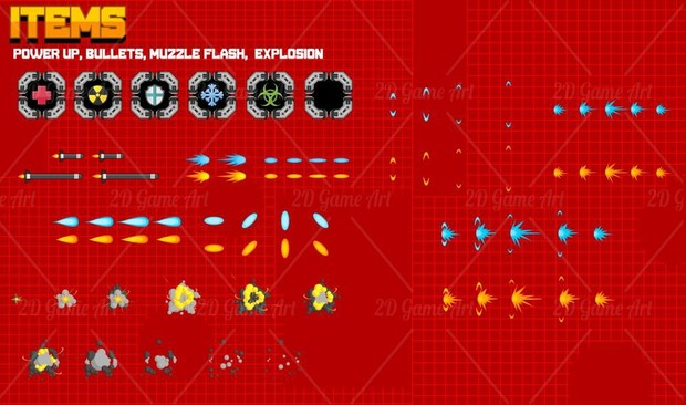 Side Scrolling Space Shooter Creation Kit