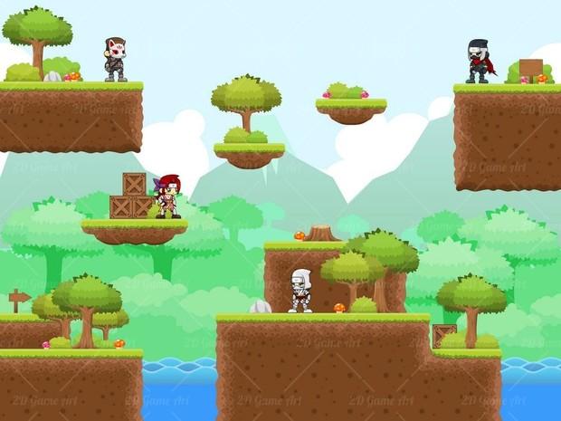 The Ninja - Game Sprites