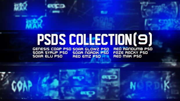 Psd's Collection (9 PSDS)