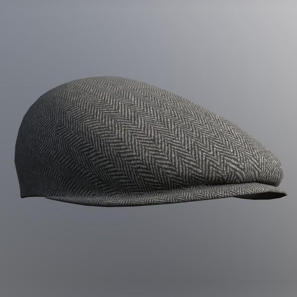 Flatcap - 3D Model