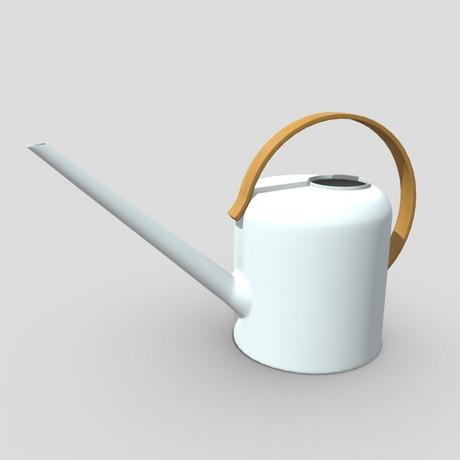 Watering Can 4 - low poly PBR 3d model