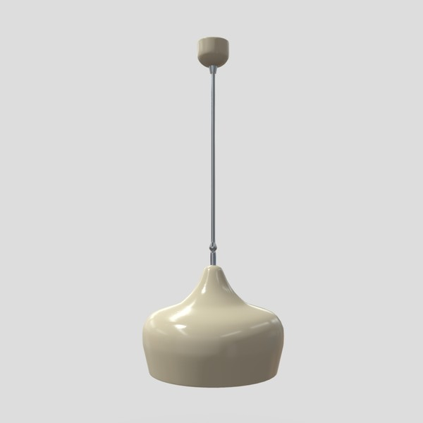 Ceiling Lamp 2 - low poly PBR 3d model