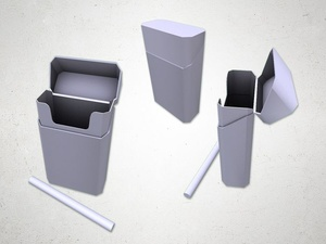 Cigarette Box - 3D Model