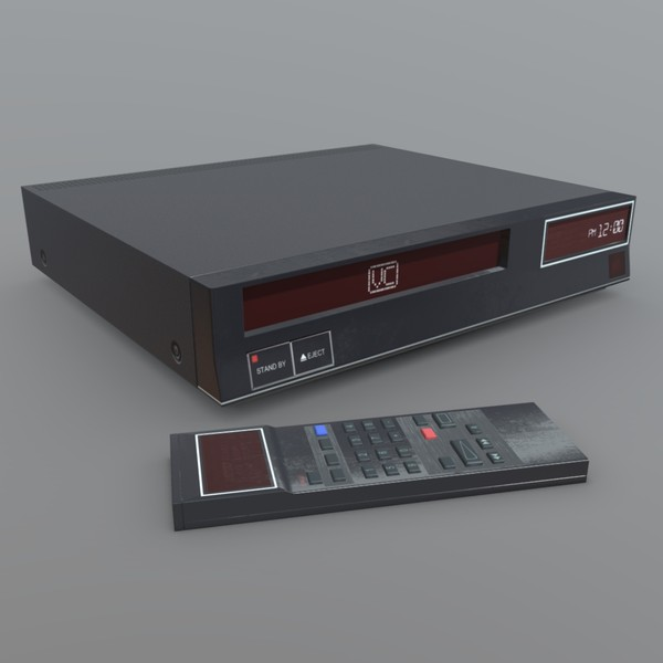 Video Recorder - low poly PBR 3d model