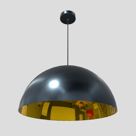 Ceiling Lamp 3 - low poly PBR 3d model