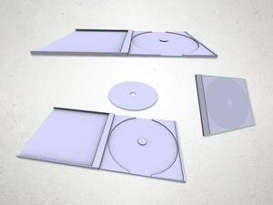 CD Case - 3D Model