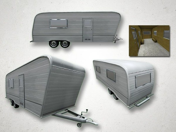 Caravan - 3D Model