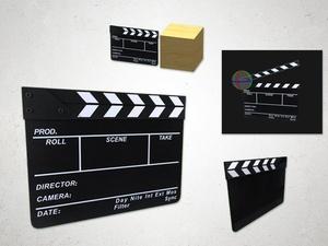 Clapperboard - 3D Model
