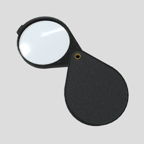 Magnifying Glass 6 - low poly PBR 3d model