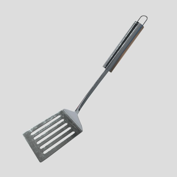 Spatula - low poly PBR 3d model