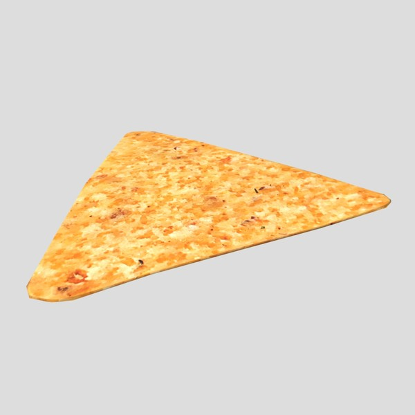 Tortilla Chip - low poly PBR 3d model