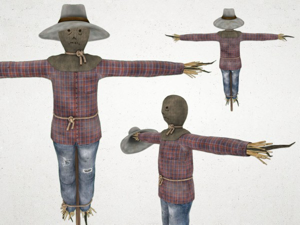 Scarecrow - 3D Model