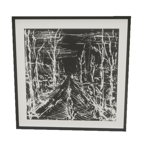 Picture Frame - untitled #path - PBR 3D Model