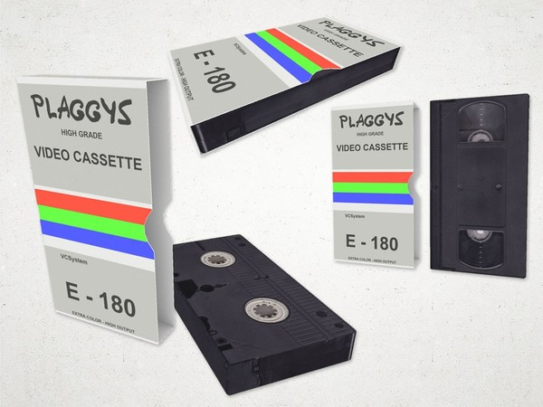Video Cassette (low poly) - 3D Model