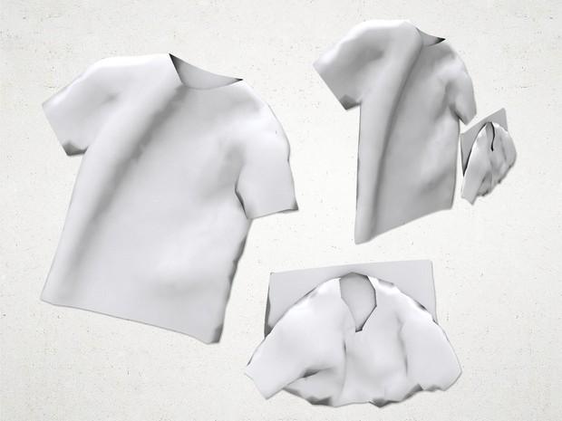 Shirt Drape - 3D Model