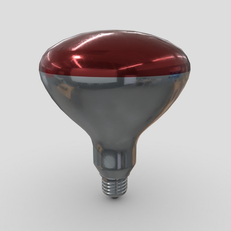 Light Bulb 6 - low poly PBR 3d model