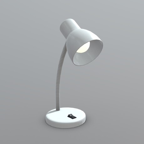 Lamp 2 - low poly PBR 3d model