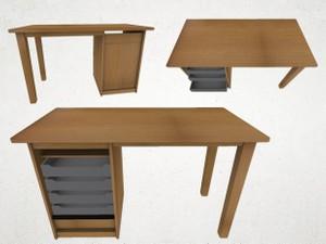Desk - 3D Model