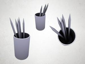 Pencil Holder - 3D Model