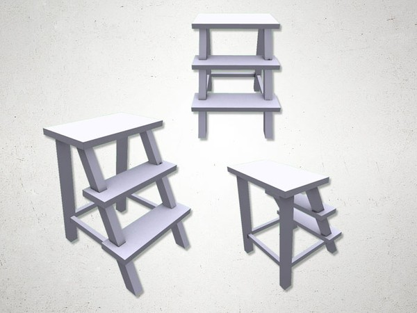 Stepladder - 3D Model