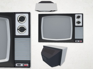 Television - 3D Model
