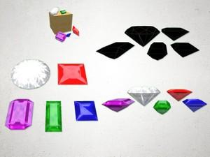 Gem Stones - 3D Model