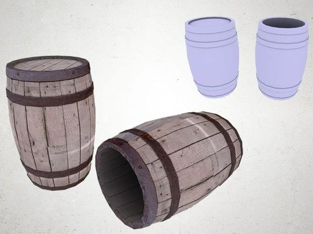 Barrel - 3D Model