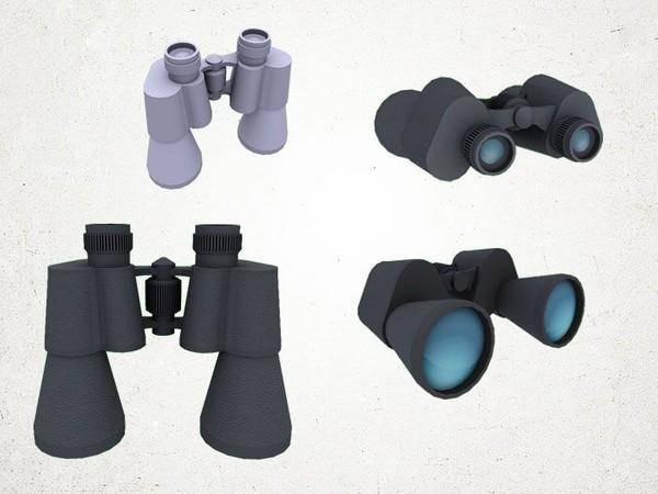 Binoculars - 3D Model