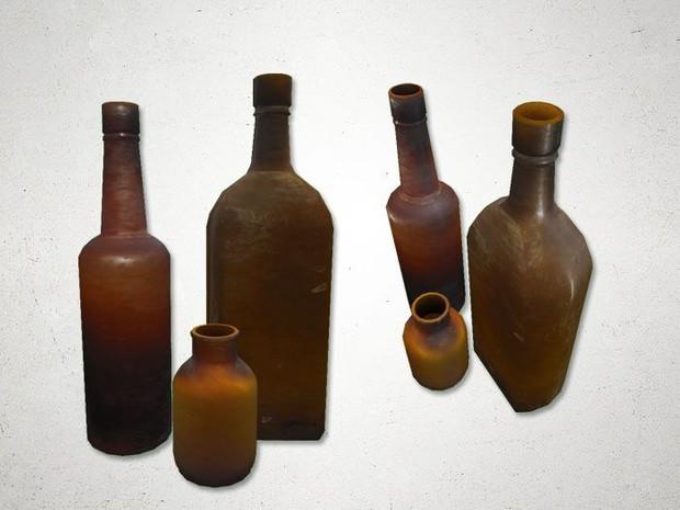 Bottles 2 - 3D Model