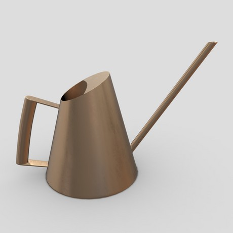 Watering Can 3 - low poly PBR 3d model