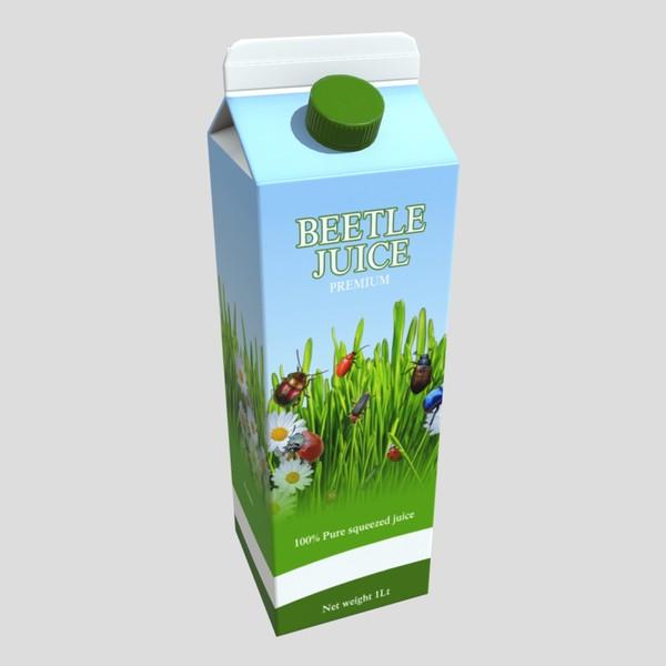 Beetle Juice - low poly PBR 3d model