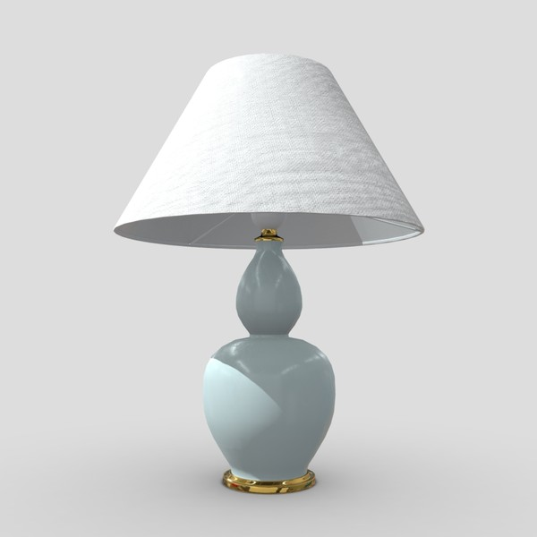 Table Lamp 5 - low poly PBR 3d model
