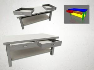 Table 2 - 3D Model
