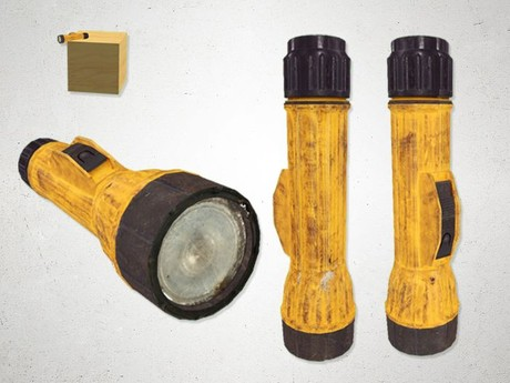 Flashlight - 3D Model