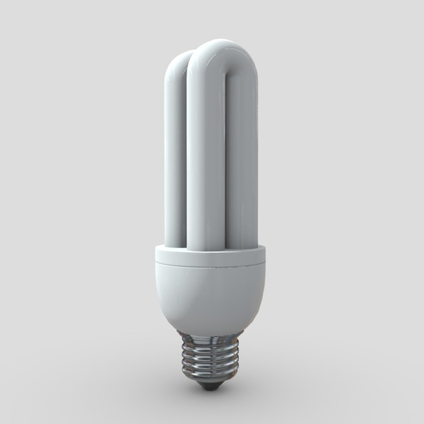 Light Bulb 2 - low poly PBR 3d model