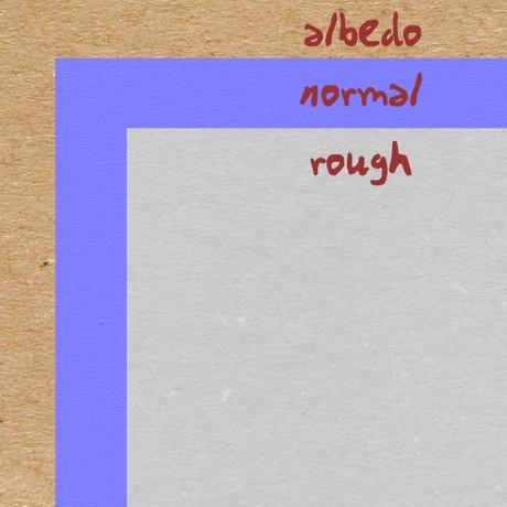 CC0 PBR Paper 02 Texture